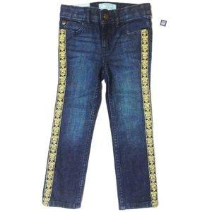 Gap Skinnny Jeans Gold Stitching